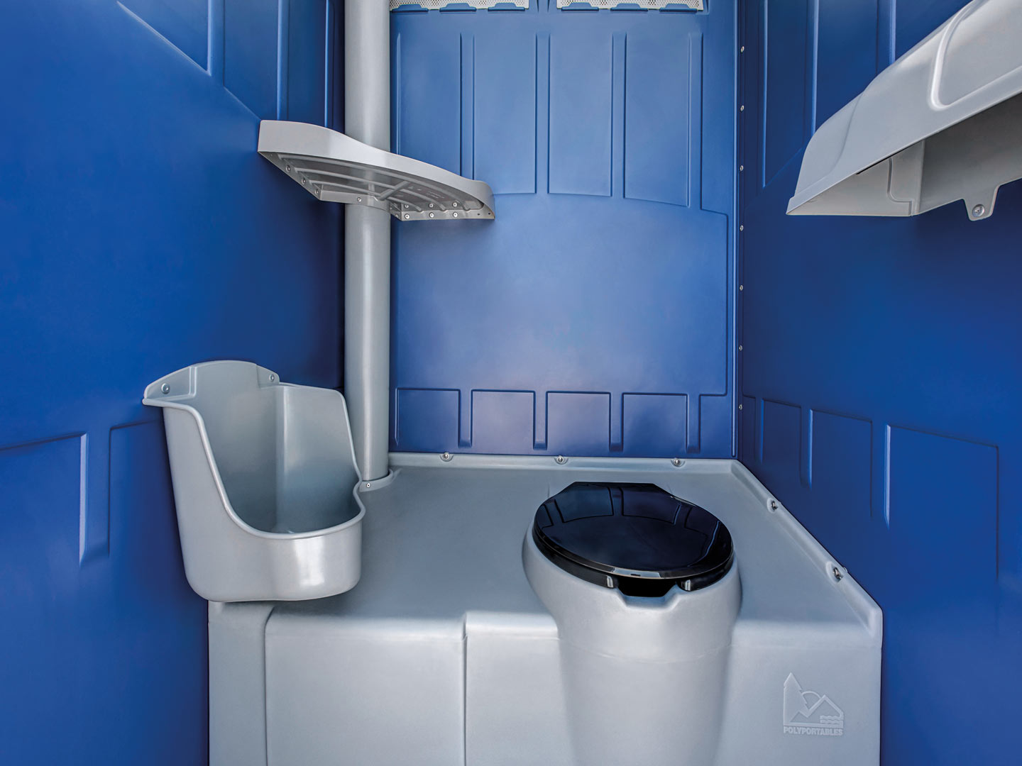 Blu Standard Unit Porta Potty - Easy Quote and Rent | Blu Site Solutions